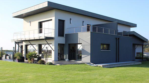Construction archives maisons ortelli - Terrasse maison contemporaine ...